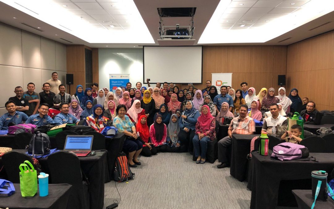 Bengkel Digital Classroom di My Digital Maker Fair 2019