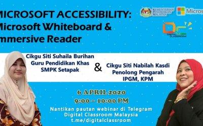Sembang Santai berkaitan Microsoft Accessibility