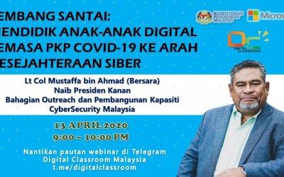 Bersama Lt Col Mustaffa bin Ahmad (Bersara) : Mendidik Anak-Anak Digital