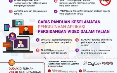 Hati-hati Guna Perkhidmatan Video Conferring