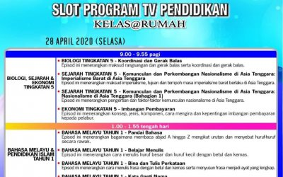 Rancangan TV Pendidikan 28hb April 2020