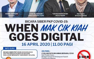 Bicara Siber : When Mak Cik Kiah Goes Digital
