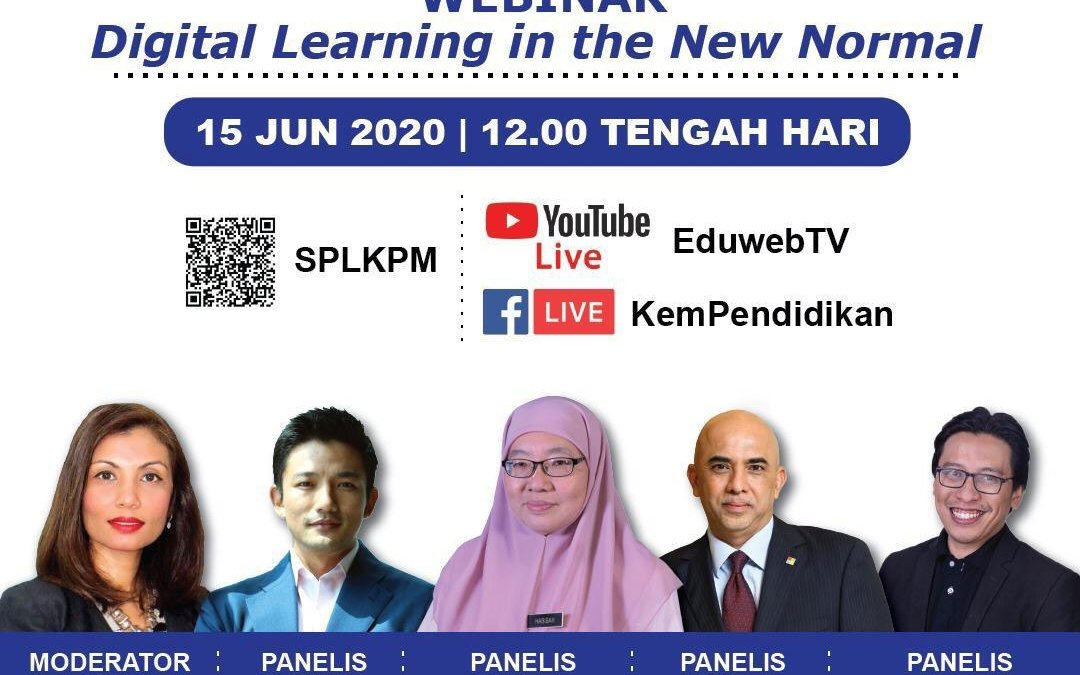 Webinar and Launch of DELIMa: Digital Educational Learning Initiative Malaysia, MoE Digital Learning Platform