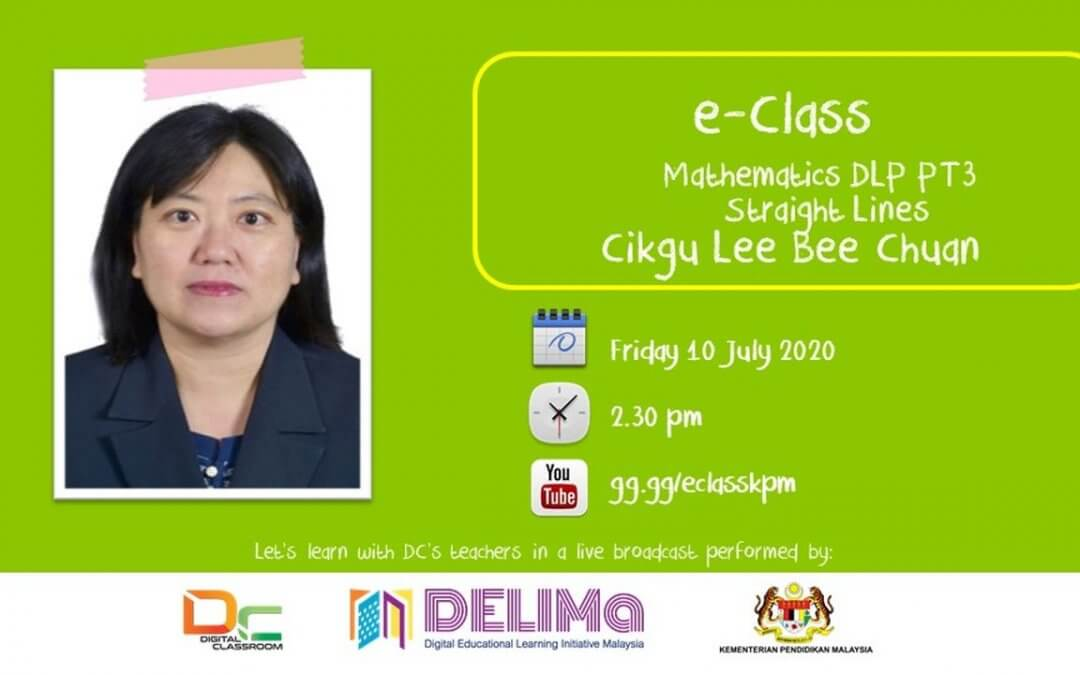 Mathematics DLP PT3 : Straight Lines with Cikgu Lee Bee Chuan