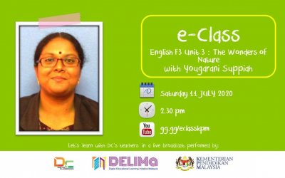 English Form 3 : The Wonders of Nature with Yougrani Suppiah